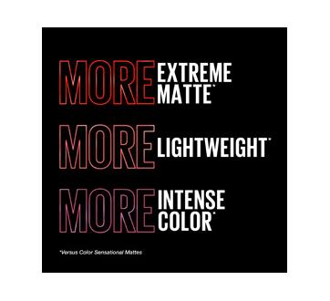 Image 5 of product Maybelline New York - Color Sensational Ultimatte Slim Lipstick, 1.7 g More Scarlet