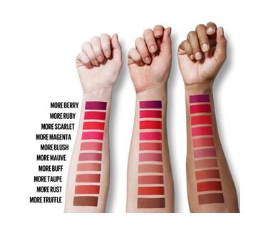 Image 6 of product Maybelline New York - Color Sensational Ultimatte Slim Lipstick, 1.7 g More Scarlet