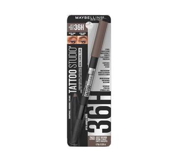 Image 5 du produit Maybelline New York - Tattoo Studio crayon à sourcils, 11 g brun foncé