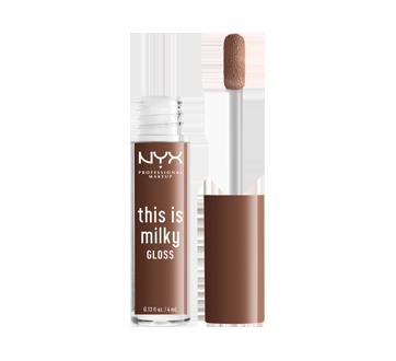 Image 2 du produit NYX Professional Makeup - This is Milky Gloss brillant à lèvres hydratant, 4 ml Milk The Coco
