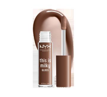 Image 3 du produit NYX Professional Makeup - This is Milky Gloss brillant à lèvres hydratant, 4 ml Milk The Coco