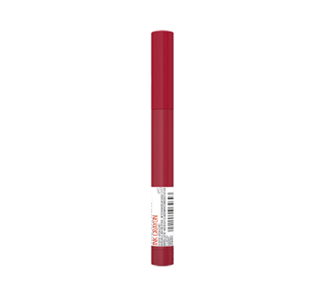 Image 3 of product Maybelline New York - SuperStay Ink Crayon Lipstick, 1.2 g Check Yourself