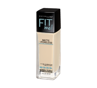 Fit Me Matte + Poreless fond de teint, 30 ml