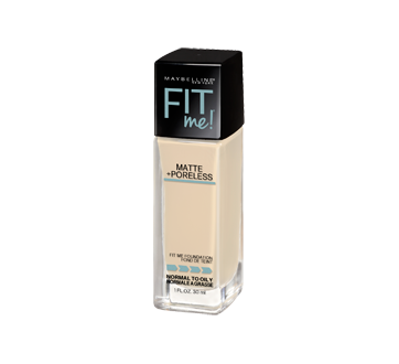 Image 1 of product Maybelline New York - Fit Me Matte + Poreless Foundation, 30 ml 110 Porcelain