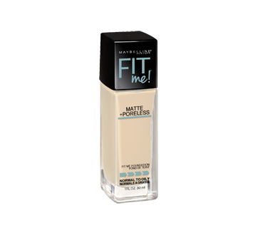 Image 2 of product Maybelline New York - Fit Me Matte + Poreless Foundation, 30 ml 110 Porcelain
