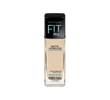 Image 3 of product Maybelline New York - Fit Me Matte + Poreless Foundation, 30 ml 110 Porcelain