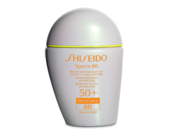 Image of product Shiseido - Sports BB SPF 50+ WetForce Broad Spectrum Sunscreen, 30 ml