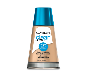 Clean Matte Liquid Foundation, 30 ml