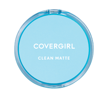 Image of product CoverGirl - Clean Matte Pressed Powder, 10 g, Oily Skin Classis Ivory