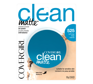 Clean Matte Pressed Powder, 10 g
