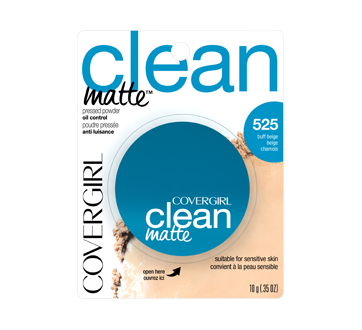 Image of product CoverGirl - Clean Matte Pressed Powder, 10 g Buff Beige