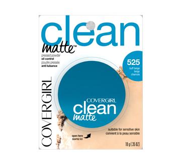 Clean Matte Pressed Powder, 10 g