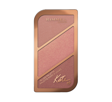 Image of product Rimmel London - Kate Blush Palette, 18.5 g Blush - 004
