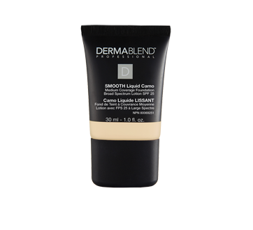Image of product Dermablend Professional - Smooth Liquid Camo Foundation Broad Spectrum Lotion SPF 25 Natural