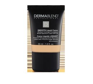 smooth liquid camo fond de teint lotion large spectre fps 25 dermablend professional fond. Black Bedroom Furniture Sets. Home Design Ideas