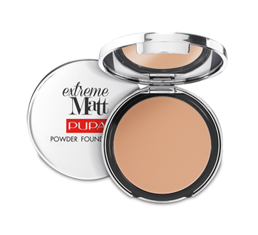 Image of product Pupa Milano - Extreme Matt Compact Powder Foundation, 11 g 040