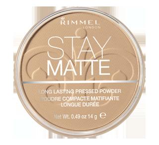 Stay Matte Long Lasting Matte Pressed Powder, 14 g