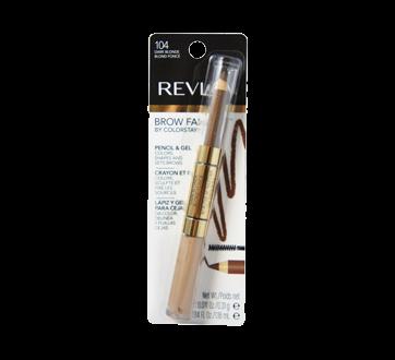 Image 2 of product Revlon - ColorStay Brow Fantasy Brow Pencil & Gel, 1 unit 104 Dark Blonde