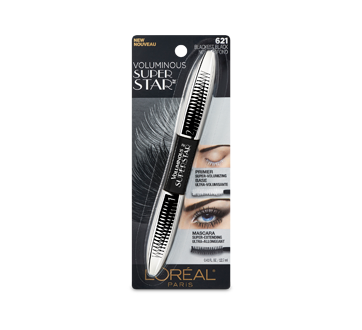 Image of product L'Oréal Paris - Superstar Mascara, 12 ml Blackest Black