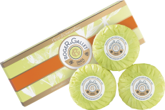 Image of product Roger&Gallet - Perfumed Soap Set - Fleur d'Osmanthus 3X100G