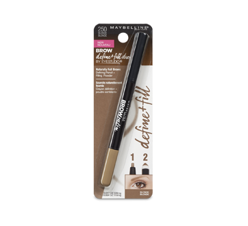Image 2 of product Maybelline New York - Brow Define + Fill Duo by Eyestudio, 0,1 g Blonde