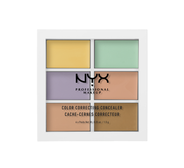 Image 1 of product NYX Professional Makeup - Concealer Color Correcting Palette, 9 g