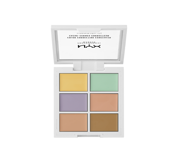 Image 2 of product NYX Professional Makeup - Concealer Color Correcting Palette, 9 g