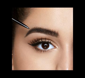 Image 4 of product NYX Professional Makeup - Micro Brow Pencil, Eyebrow Kolh Pencil, 0.16 oz Taupe