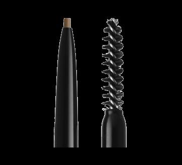 Image 7 of product NYX Professional Makeup - Micro Brow Pencil, Eyebrow Kolh Pencil, 0.16 oz Taupe