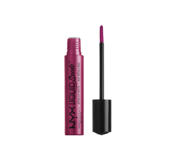 Image 2 du produit NYX Professional Makeup - Liquid Suede Mettalic Matte rouge à lèvres, 4 ml Buzz Kill