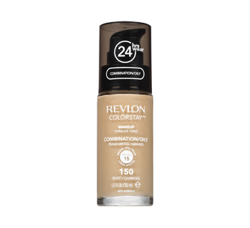 Image of product Revlon - ColorStay Liquid Makeup for Combination/Oily Skin SPF 15, 30 ml 150 Buff