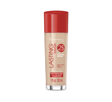 Image of product Rimmel London - Lasting Finish 25H Foundation with Comfort Serum, 30 ml #091 Light Ivory