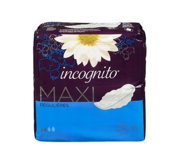 Image 3 du produit Incognito - Maxi régulières avec rebords, 18 unités