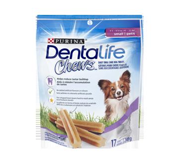 DentaLife Chews gâteries quotidiennes pour la dentition des chiens de petite taille, 248 g