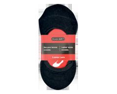 Image du produit Studio 530 - Bas invisibles pour femme, 3 unités, noir