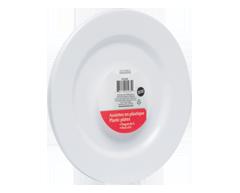 Image du produit Home Exclusives - Assiettes en plastique, 6 unités, rondes, 10 pouces