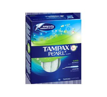 Image 2 du produit Tampax - Pearl - Super non parfumés, 18 unités