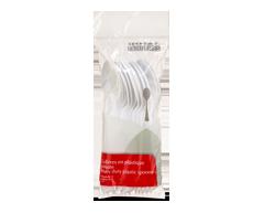 Image du produit Home Exclusives - Cuillers en plastique robuste, 12 unités