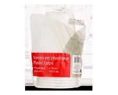 Image du produit Home Exclusives - Verres en plastique, 16 x 473 ml