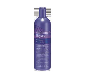 Shampooing rehausse-couleur cheveux blonds er argentés, 473 ml