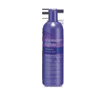 Image 2 du produit Shimmer Lights - Shampooing rehausse-couleur cheveux blonds er argentés, 473 ml