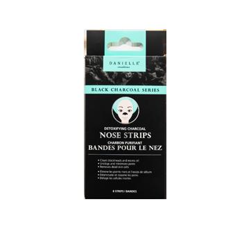 Bandelettes pour le nez au charbon noir, 8 unités