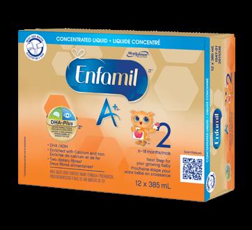 Enfamil A+ 2 liquide concentré, 12 x 385 ml