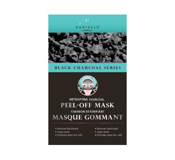 Masque peeling en gel au charbon noir, 4 unités