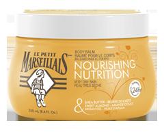 Image du produit Le Petit Marseillais - Baume pour le corps nutrition, 250 ml, beurre de karité, amande douce et huile d'argan