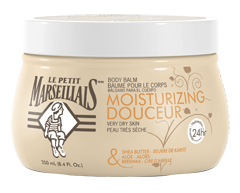 Image du produit Le Petit Marseillais - Baume pour le corps douceur, 250 ml, beurre de karité, aloès et cire d'abeille