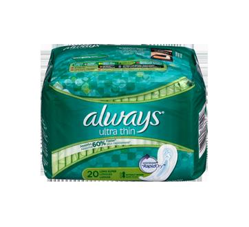 Image 3 du produit Always - Serviettes ultra-minces, 20 unités