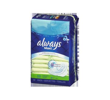 Image 2 du produit Always - Maxi serviettes régulières, 32 unités
