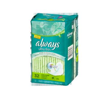 Image 2 du produit Always - Serviettes ultra-minces, 32 unités