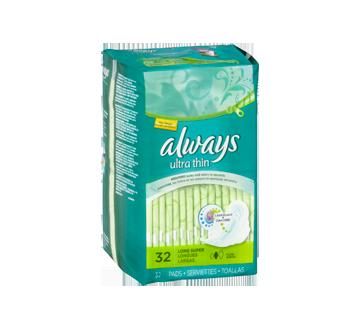 Image 3 du produit Always - Serviettes ultra-minces, 32 unités